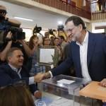 -El presidente del Gobierno en funciones y candidato del Partido Popular para la reelección, Mariano Rajoy. LA PRENSA/EFE