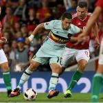 Bélgica reafirma candidatura con golea y se cita con Gales en cuartos