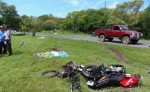Un mortal accidente se registró en la carretera Panamericana Sur. LA PRENSA/ R. VILLARREAL
