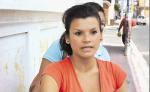 Jennifer Zeledón afuera del Juzgado de Distrito de Familia en Jinotepe. LA PRENSA/ Mynor García.