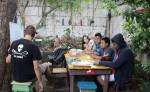 La Casita del árbol un proyecto cultural gratuito que funciona en Tipitapa. LA PRENSA/ A. MORALES