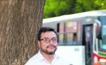 Humberto Meza, politólogo, quiere promover el debate entre los jóvenes. LA PRENSA/ M. ESQUIVEL