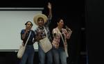Ellas porfiadas, ellos tan sordos  es un teatro para reflexionar y demandar ante la precaria situación de las zonas rurales y su gente. LA PRENSA/JORGE TORREZ.
