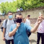 Trece detenidos tras violencia en zona franca