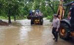 Las lluvias inundaron tres casas en Siuna. LA PRENSA/J. Garth