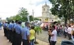 Los vendedores ambulantes pidieron a las autoridades un espacio dónde vender sus productos en el nuevo mercado de Jinotepe. LA PRENSA/M. GARCÍA