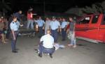 El  crimen ocurrió a una cuadra y media de la delegación policial  de Sutiaba, en León. El móvil de este hecho aún se desconoce. LA PRENSA/E. LÓPEZ