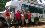 Los miembros de la Caravana Mesoamericana para el Buen Vivir enlistaron todos los objetos y pertenencias que les hacian falta al ser expulsados de Nicaragua. LA PRENSA/ CORTESÍA