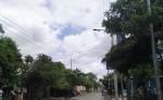 Pobladores del barrio Veracruz, piden que se mejore el servicio de alumbrado público. LAPRENSA/M.CALERO