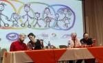 Yasser Morazán, Elvira Cuadra, Ana Quirós y Marvin Mayorga. LA PRENSA/E. ROMERO