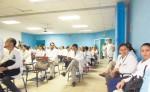 Los médicos  anunciaron  una marcha de apoyo   a sus colegas y se comprometieron a acompañarlos  en todo el proceso. LA PRENSA/R.MORA