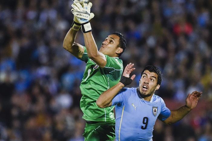 Keylor Navas, Luis Suárez, Copa América Centenario