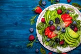 Prepare platillos con frutas