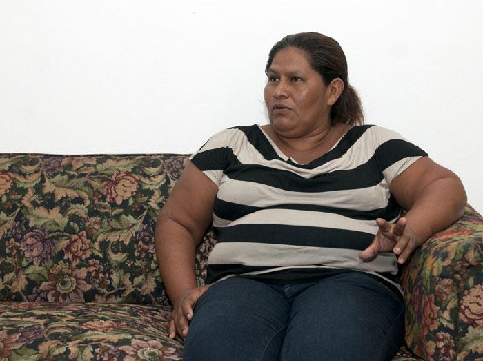 Francisca Ramírez Torres, lideresa de la lucha anticanal. LAPRENSA/Jorge Torres.