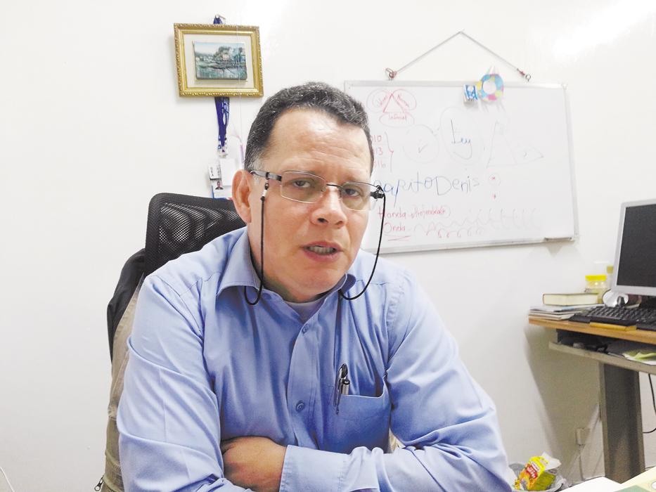 Denis Darce, jefe de proyectos de la CPDH. LA PRENSA/E. Romero