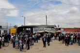Vehículos de carga viajan escoltados en Colombia por paro