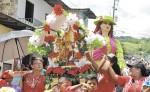 El Tope de Santiaguito es una tradición de 58 años en la ciudad de Boaco,  a partir de hoy hay una serie de actividades para celebrar a este santo patrono. LA PRENSA/M. RODRÍGUEZ