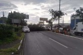 Vendaval destruyó 3 viviendas en Managua