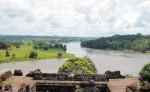 El río San Juan, al sur del país, en la frontera con Costa Rica, sube en la lista de elementos que definen la nicaraguanidad cuando hay conflictos con el vecino país. A pesar de la carretera que ahora existe sigue siendo un lugar poco visitado por la mayoría de nacionales. LA PRENSA/ ARCHIVO.
