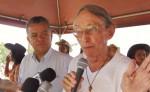 El padre Evaristo Bertrand durante las fiestas patronales de Ocotal en 2014. LA PRENSA/A . LORÍO