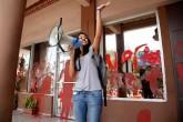 Hija de Berta Cáceres exige justicia en Convención Demócrata