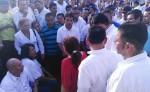 Debido a la fuerte protesta las labores del hospital Alemán Nicaragüense fueron suspendidas. LA PRENSA/R. FONSECA