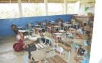 Niños participan en simulacro ante desastres . LA PRENSA/EFE