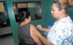 El Ministerio de Salud aplicó un total de 48,151 dosis  de vacunas contra el Neumococo hace dos meses para prevenir  la neumonía. LA PRENSA/ARCHIVO