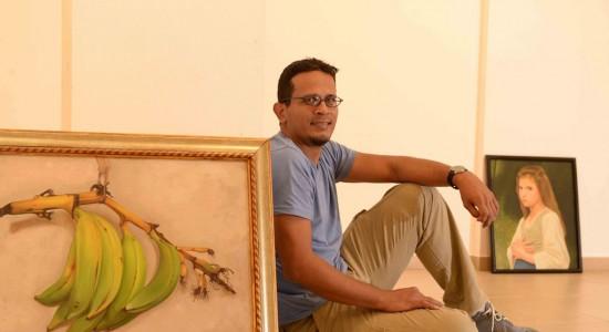 Marcelo Ampié realiza su primera exposición de naturalezas y retratos