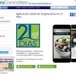Crean aplicación para mejorar la salud con dieta vegetariana