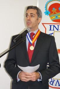 Carlos Blasco Bernaldez, ministro consejero de la Embajada de España, y director del Centro Cultural de España en Nicaragua. LAPRENSA/ARNULFOAGÜERO