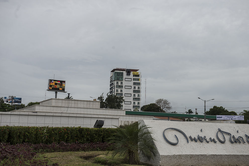 El Edificio del Norte, ubicado en el centro de Managua, se construyó con fondos del INSS.