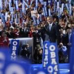 Barack Obama, participa en el tercer día de la Convención Nacional Demócrata 2016 este miércoles, en el Wells Fargo Center de Filadelfia, Pensilvania (EE.UU.). LA PRENSA/EFE