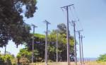 En la comunidad de Esquipulas, municipio de  Moyogalpa,  está ubicada la terminal del cable subacuático, instalada desde finales del año pasado, pero aún sigue sin funcionar. LA PRENSA/R. VILLARREAL
