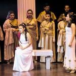 La reina Dido es flechada y muere de amor
