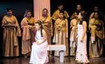 Puesta en escena Dido y Eneas en el Teatro Nacional Rubén Darío.LA PRENSA/Lissa Villagra