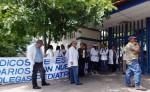 Los médicos y personal de Salud han cerrado filas  a favor de los pediatras acusados de homicidio imprudente. LA PRENSA/R. MORA