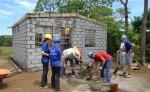 Hábitat para la Humanidad Nicaragua brinda asistencia técnica en construcción para que las personas de escasos recursos construyan adecuadamente sus casas. LA PRENSA/ CORTESÍA HÁBITAT NICARAGUA