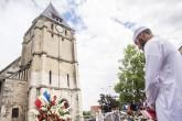 Rinden homenaje a sacerdote asesinado en Francia