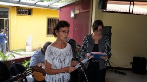 Auxiliadora Lacayo del MRS, destaca la personalidad de Vidaluz Meneses