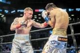 Carl Frampton derrotó en un explosivo combate a Leo Santa Cruz