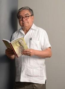 Escritor Francisco J. Mayorga. LAPRENSA/YADER FLORES
