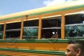 Reos incendian autobús en carretera Granada a Masaya