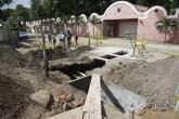 Dañan obra vial hacia Veracruz por meter tubos