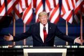 Trump dice que acusar a Obama de fundador del Estado Islámico, era solo un sarcasmo