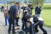 Dos heridos en un ataque con cuchillo en un tren en Austria
