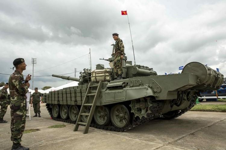 Ejército de Nicaragua Tanques-rusos1-750x500
