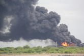 Explota segundo tanque de almacenamiento de Puma Energy en Puerto Sandino