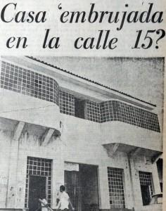 La clínica y casa del doctor Paco León, descrita en LA PRENSA como un lugar maldito. LA PRENSA/Archivo.