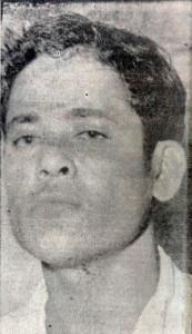 """Pompilio Ortega Arróliga, conocido como """"El Chacal de Tacaniste"""". LA PRENSA/Archivo."""